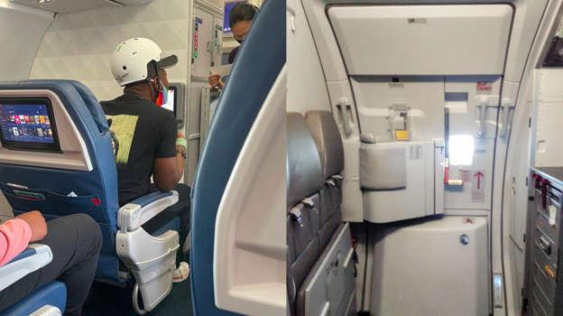 Un homme retourne un avion en essayant d'ouvrir la porte en plein vol