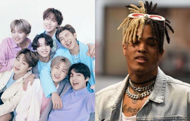 Le groupe de Kpop BTS a officiellement détrôné XXXTentacion