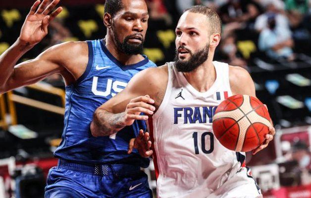 Les Etats Unis s'inclinent face aux Français au basketball