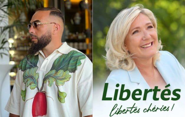 Médine se moque ouvertement de Marine Le Pen sur Twitter